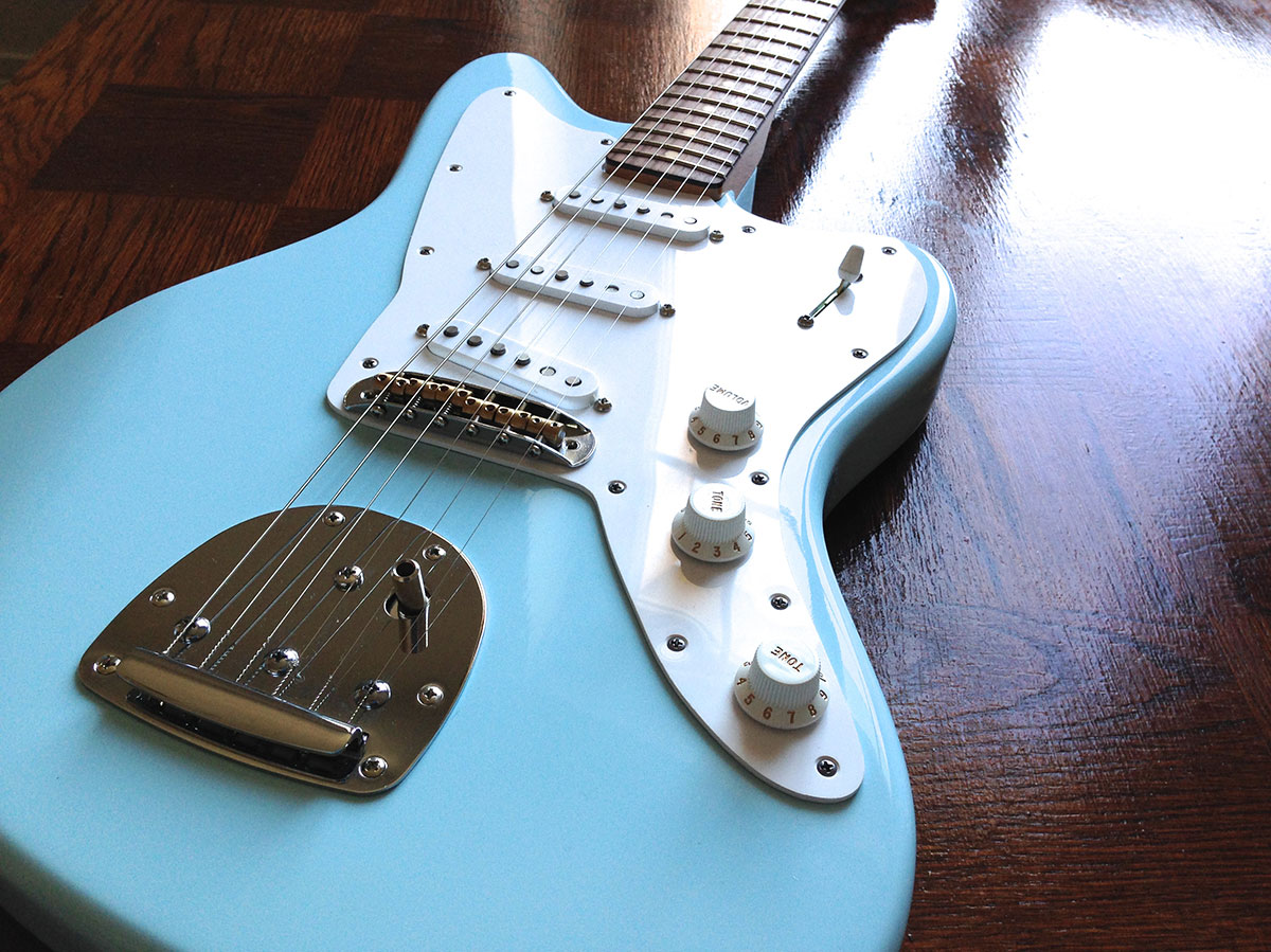 Monkey Jazzcaster Blue Sky