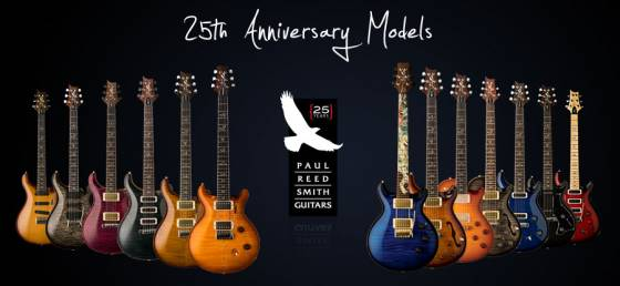 prs25thanniversarymodels